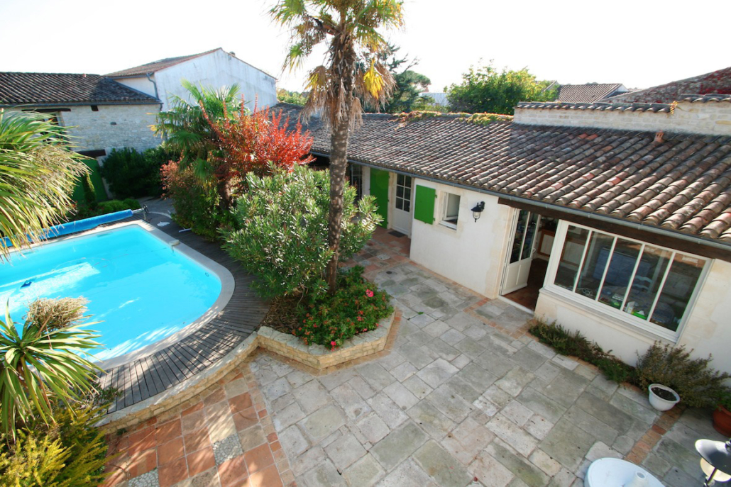 Villa Bel Air - Terrasse & piscine